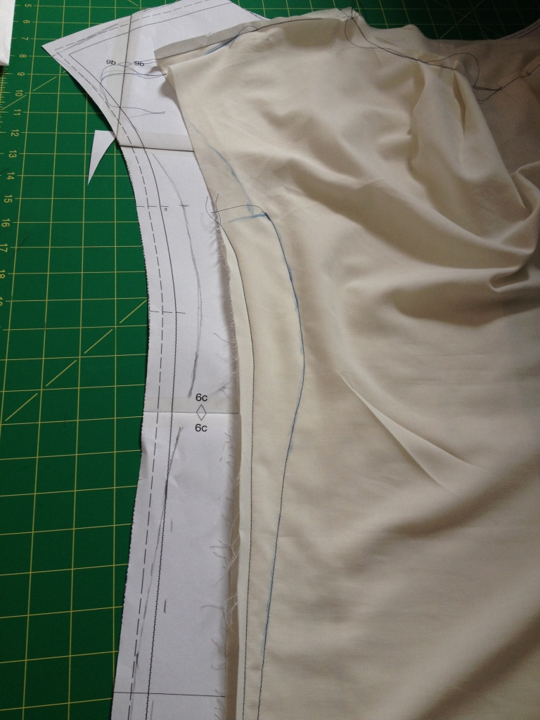Toile adjustment
