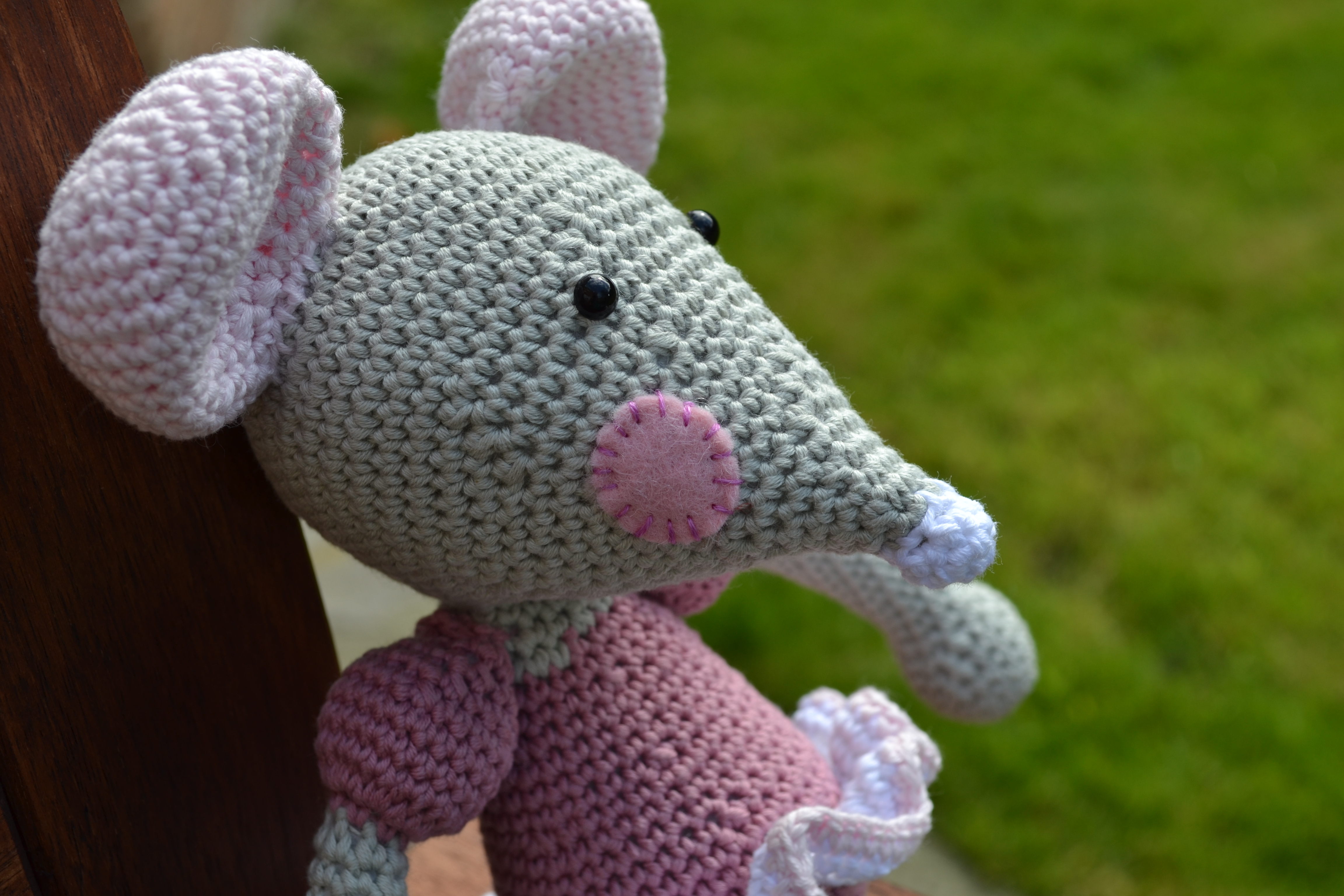 Brenda the Ballerina Mouse | Love, Lucie