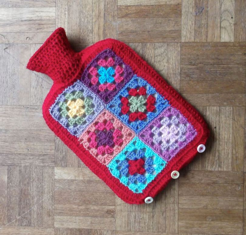 Made By Patch Hot water bottle cover