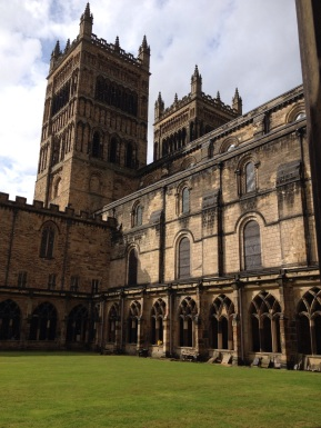 Durham Cathedral Cloisters - some sun!