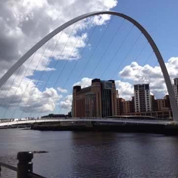 Millenium Bridge, Newcastle. Beautiful