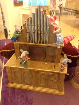The mice on the mouse organ