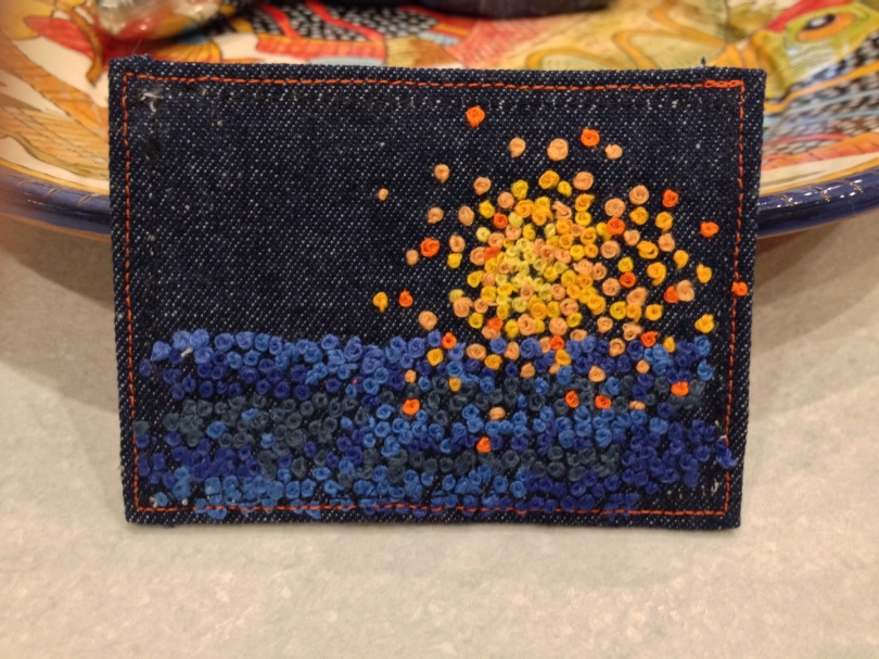 Getting away from it all. Fabric ATC
