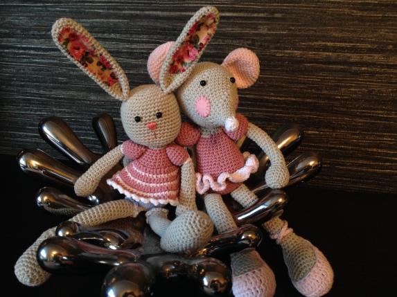 Bonny Bunny and Brenda Ballerina