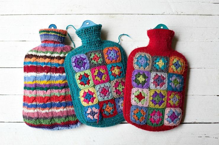 Foxs Lane Crochet Hot Water Bottle