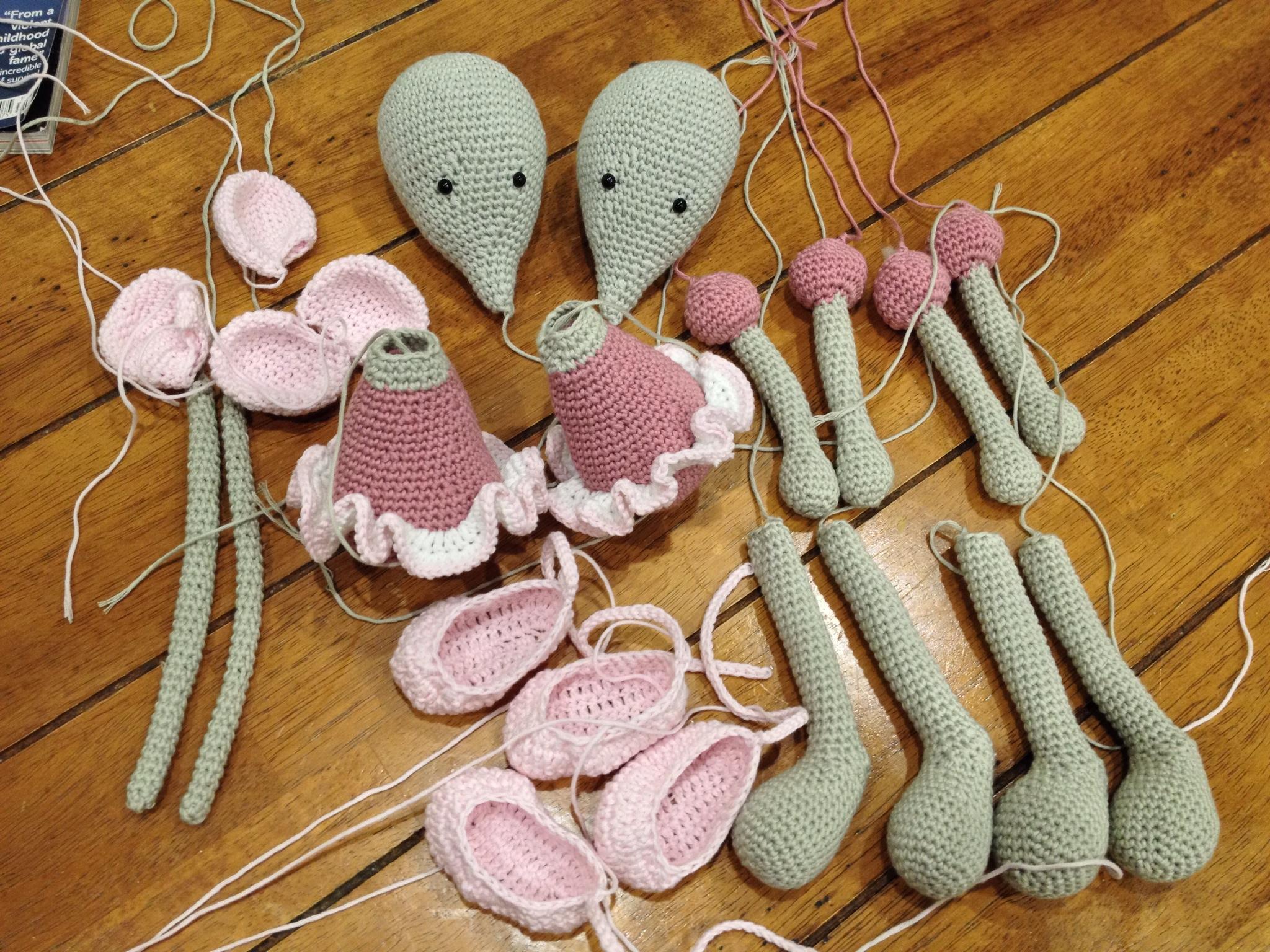 Ballerina-Mouse amigurumi pattern - Amigurumipatterns.net | 1536x2048