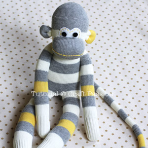 Sock monkey tutorial from Craft Passion