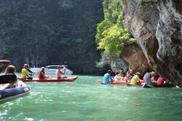 Canoe safari Ao Phang Nga National Park, Thailand