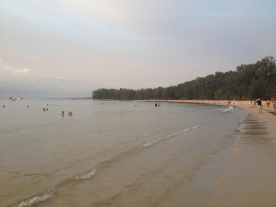 Nai Yang Beach, outside our hotel in Phuket