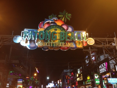 The notorious strip in Patong - google for more information!