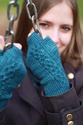 Beira fingerless gloves