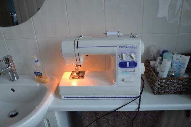 Bathroom sewing