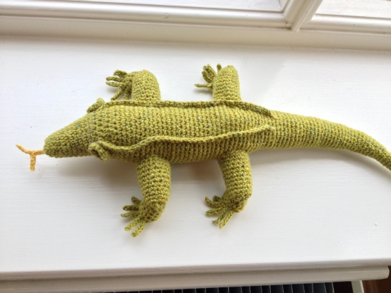 Great crested crochet gecko