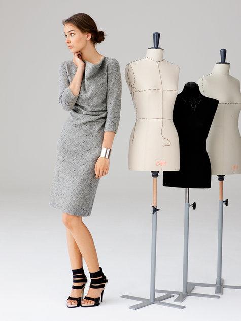 Burdastyle Cowl Dress 10 2012 #118A