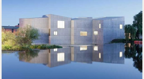 Hepworth Gallery Wakefield. The £35 million gallery was designed by internationally acclaimed David Chipperfield Architects. Photo from Artfund - click for link