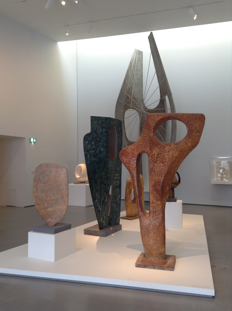 Barbara Hepworth at the Hepworth Gallery, Wakefield