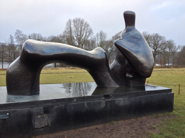 Henry Moore Reclining Figure at YSP