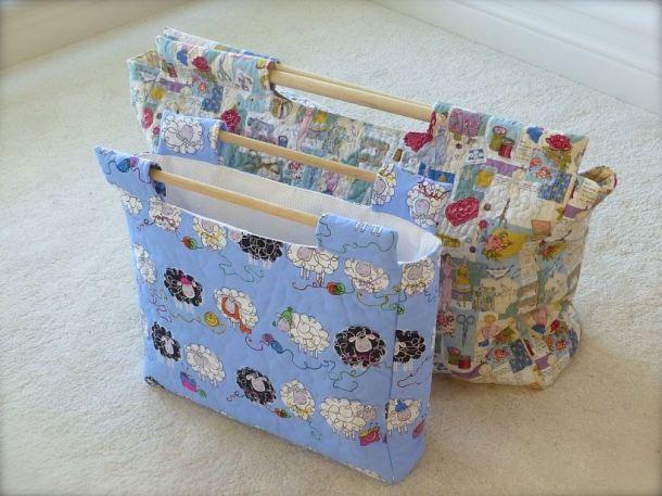 Sewchet WIP bags