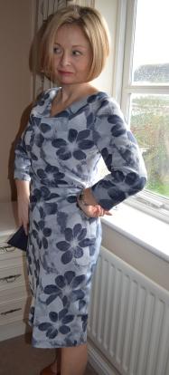 10. Burda syle Cowl Dress 102012DSC_1029