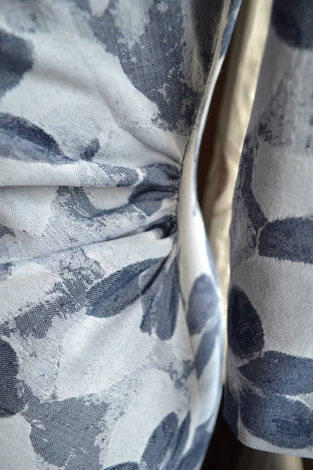 4. Burda syle Cowl Dress 102012
