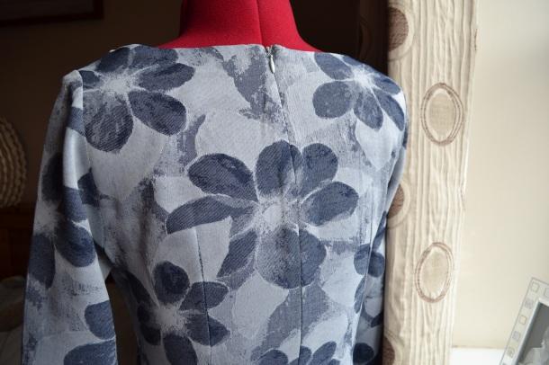 5. Burda syle Cowl Dress 102012