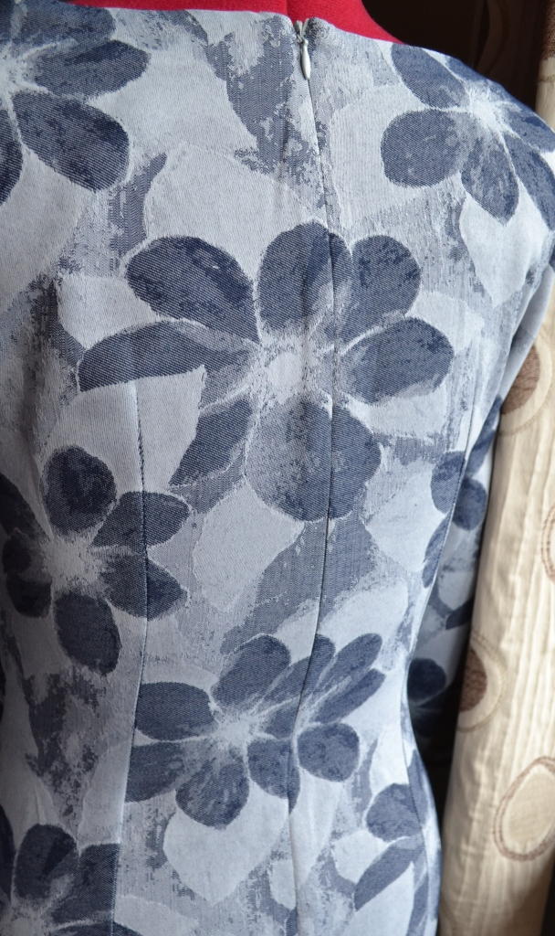 6. Burda syle Cowl Dress 102012