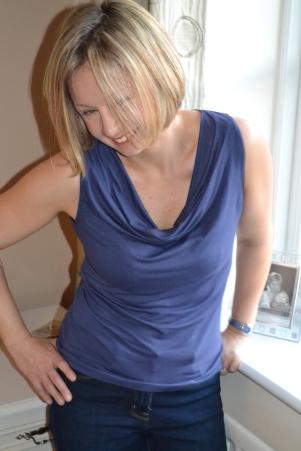 Maria Denmark Day to Night Drape Top