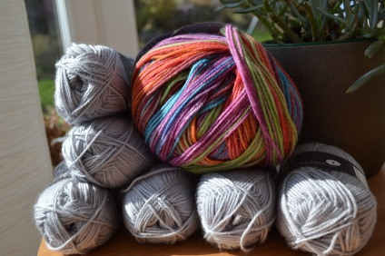 Yarn for a baby blanket