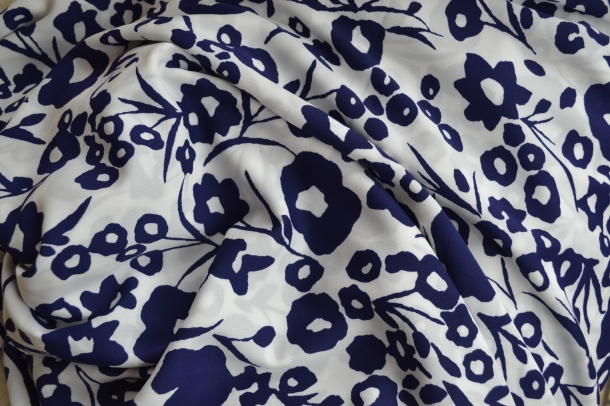 Polyester dress fabric