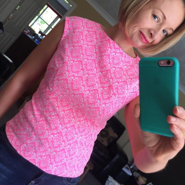 Pink Burda 7051