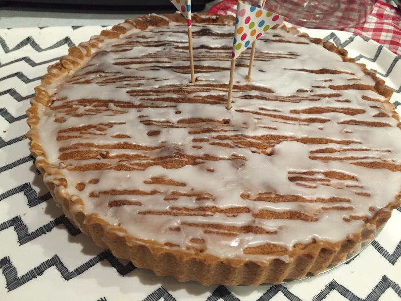 Birthday Bakewell.