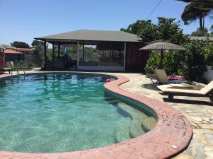 The peaceful pool