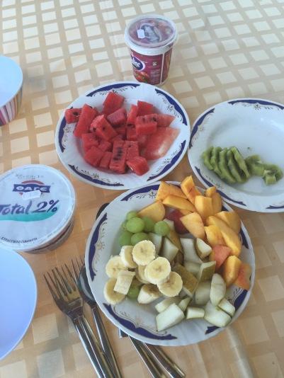 Skiathos breakfast
