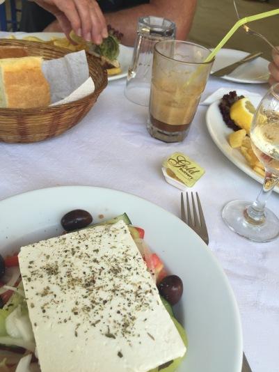 Skiathos Greek salad