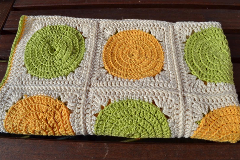Citrus Crochet blanket 3