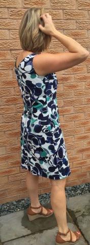 Burda 7113 70's vintage shift dress