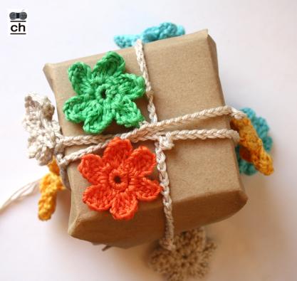 Crochet Home garland-gift