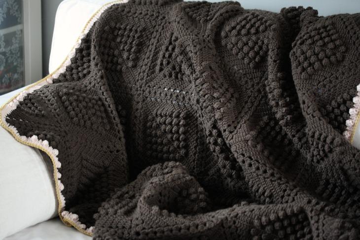 Vanessa's popcorn blanket