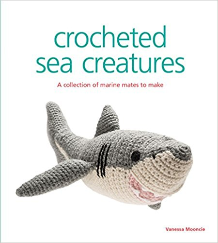crocheted sea creatures by Vanessa Mooncie